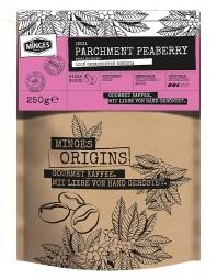 250g MINGES ORIGINS INDIA PARCHMENT PEABERRY (PERLBOHNE)