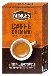52g (10er) MINGES Caffé Cremano - Restposten (MHD 11/2019)-