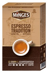 52g (10er) MINGES Espresso Tradition