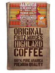 125g FRITZ MINGES JAMAICA Blue Mountain