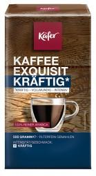 500g KÄFER KAFFEE EXQUISIT KRÄFTIG