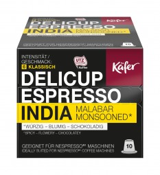 52g (10er) DELICUP ESPRESSO INDIA MALABAR MONSOONED