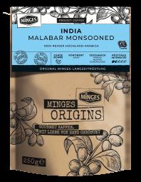 250g MINGES ORIGINS INDIA MALABAR MONSOONED