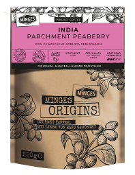 250g MINGES ORIGINS INDIA PARCHMENT PEABERRY (PERLBOHNE)