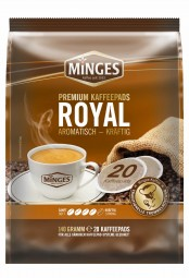 RESTPOSTEN - 140g (20er) MINGES Röstkaffee Royal